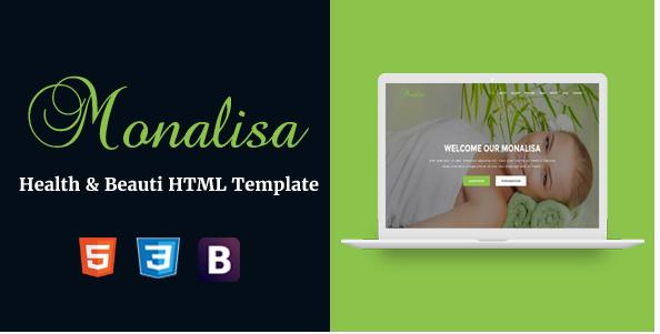 Monalisa - Health & Beauti HTML Template