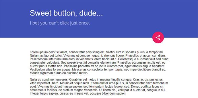 Multi button pure-CSS