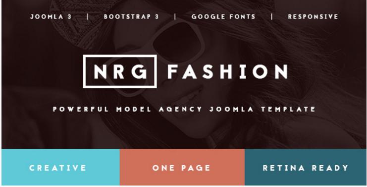 NRGfashion - Model AgencyFashion Template