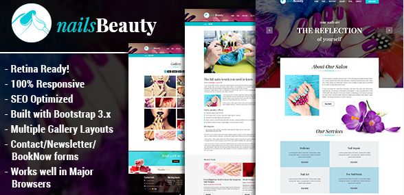 NailsBeauty - Nail, Spa and Beauty HTML Template