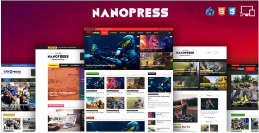 Nanopress - Drupal Responsive Blog & Magazine Theme