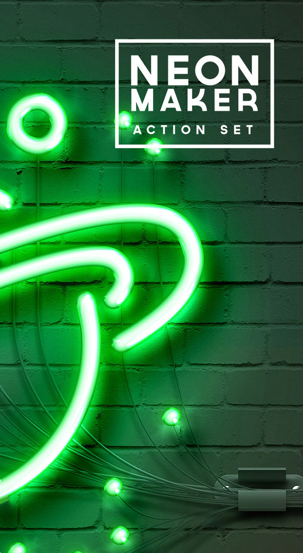 Neon Maker Action Set