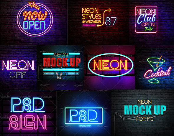 Neon Styles