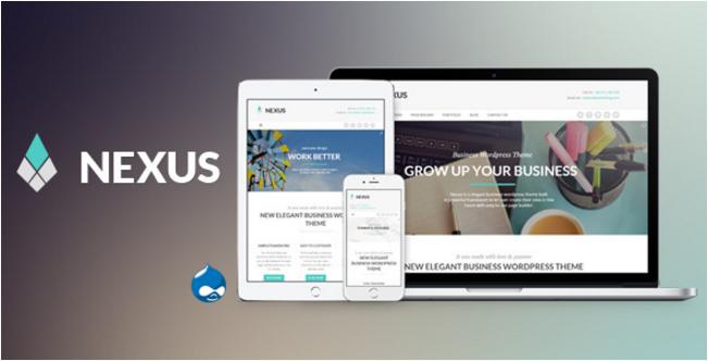 Nexus - Elegant Business Drupal Theme