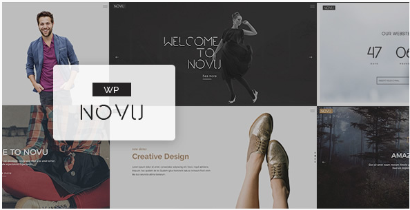 Novu - Modern & Creative WordPress Theme