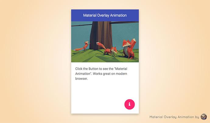 Overlay Animation