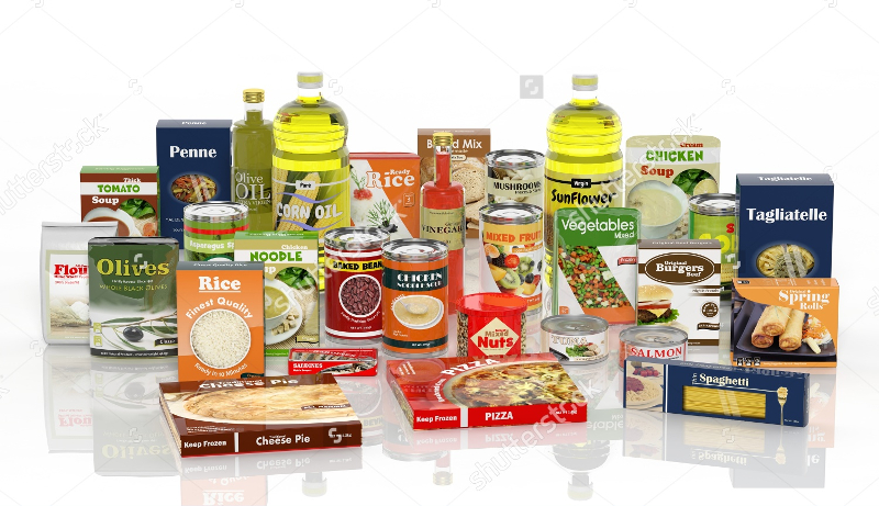 Packaged-Food-Isolated-on-White-Background