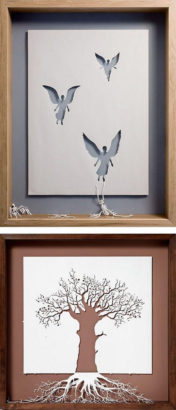 Paper-Cut-Sculptures