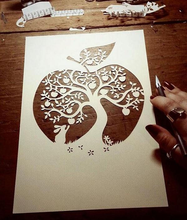 Papercut Dye Designs