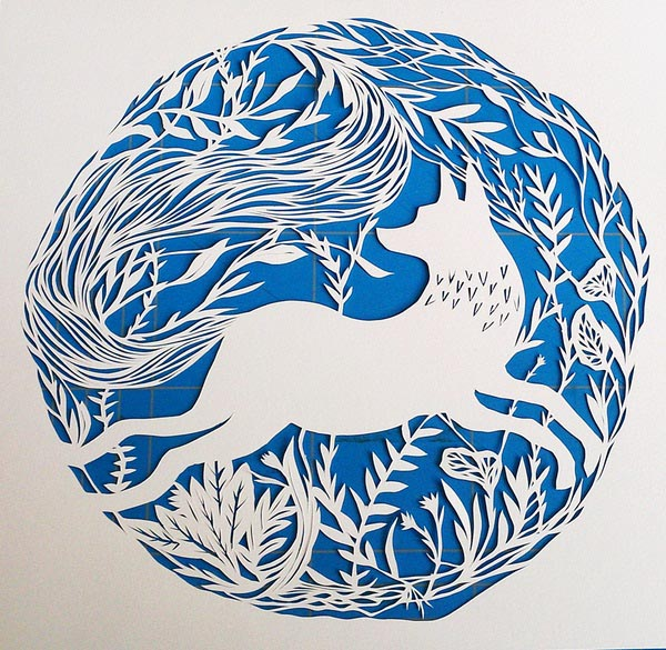 Papercut-Fox