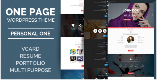 Personal One - OnePage