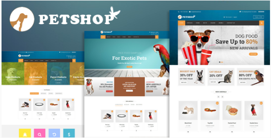 Petshop: A Creative WooCommerce theme for Pets and Vets