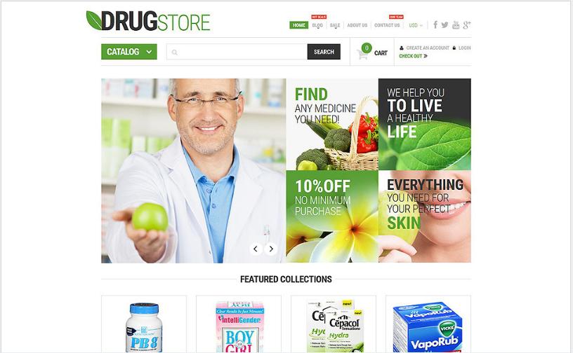 Pharmaceutical Business Shopify Theme