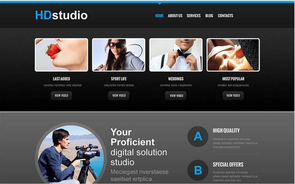 Photo Studio Responsive Joomla Template