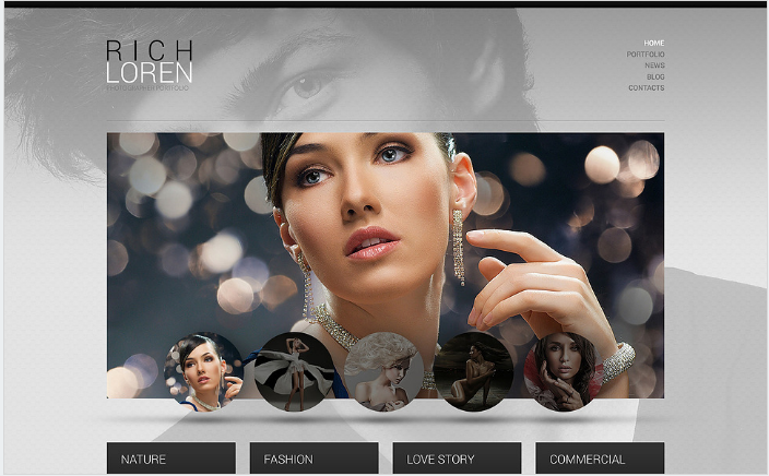 Photographer Portfolio WordPress Theme