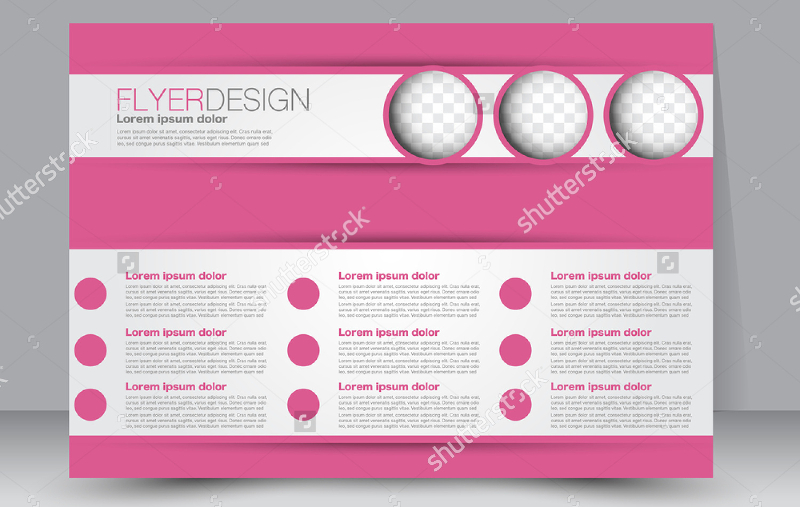 Pink-color-Editable-Landscape-Brochure
