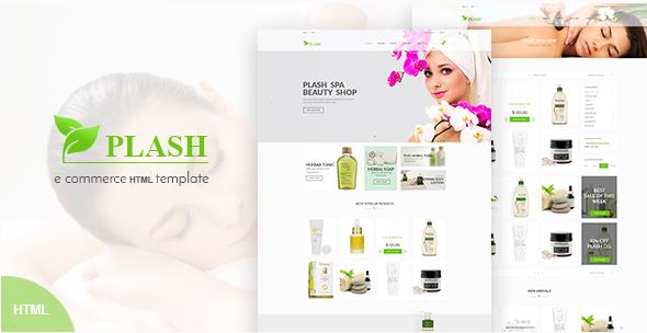 Plash – Spa Bootstrap Template