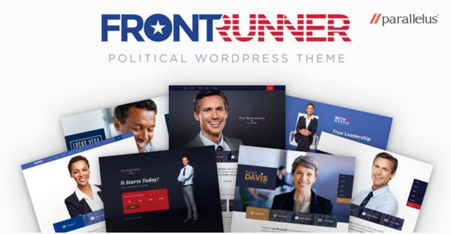 Political WordPress Theme - FrontRunner