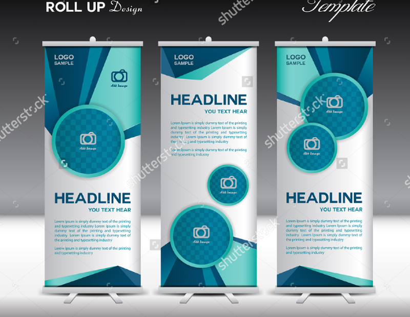 Polygon-Background-Advertising-Banner