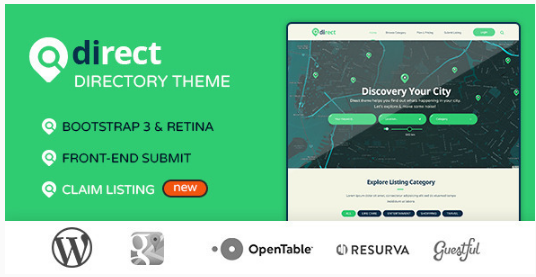 Pro Direct - Directory & Listing WordPress Theme