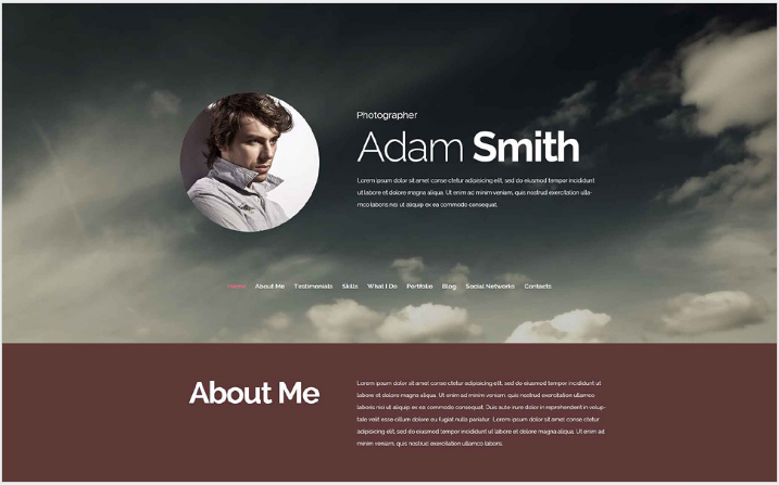 Pro Photographer Drupal Template
