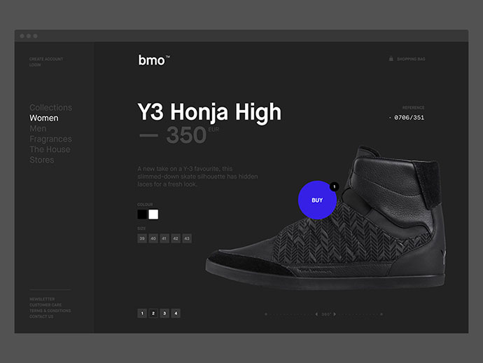 Appealing E-Commerce Product Page And Card UI Designs