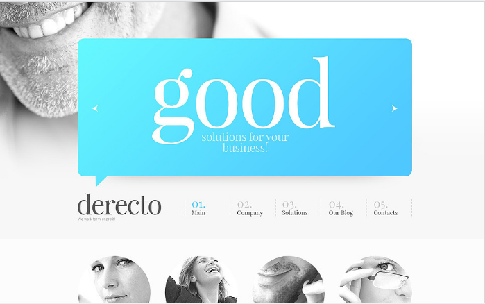 Prominent Business Drupal Template