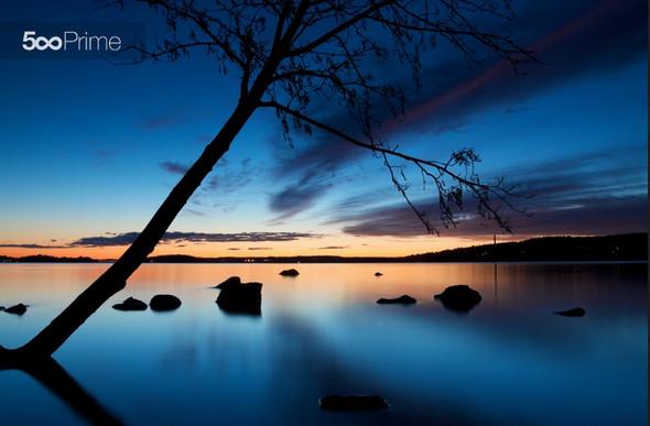 Pyhäjärvilake-after-Sunset