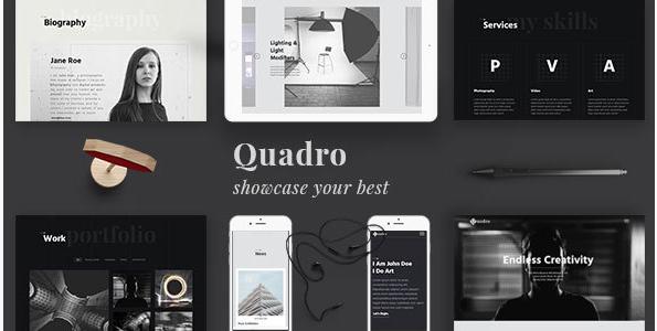 Quadro  Responsive Photography Template