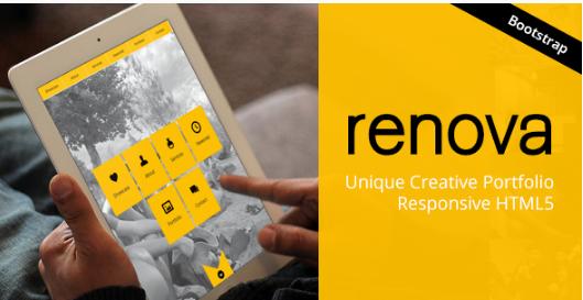 RENOVA HTML5 One Page Website Templates