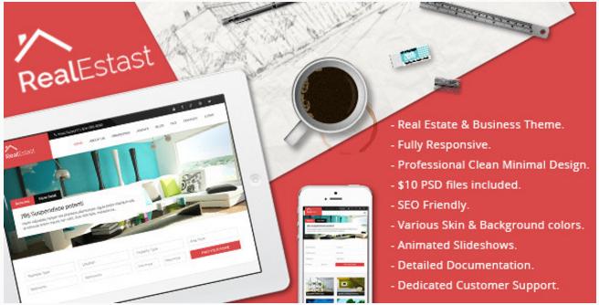 Real Estast - Real Estate & Business Drupal Theme