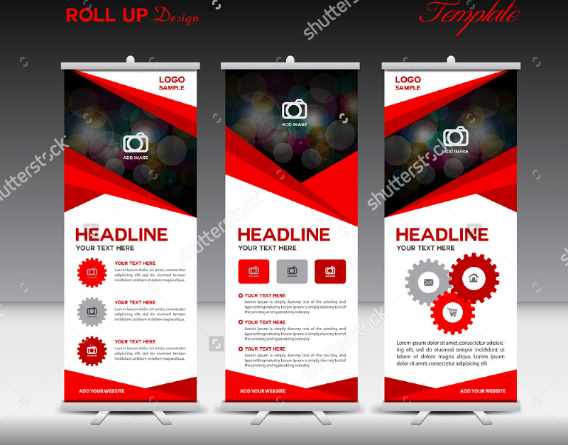 Red-Color-Roll-Up-Banner