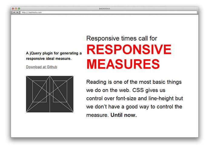 Responsive-Measure