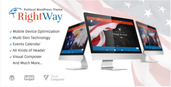 Right Way | Political WordPress Theme