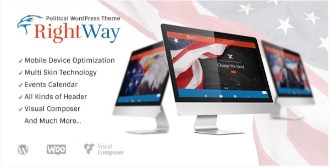 Right Way | Political WordPress Theme