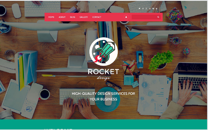 Rocket Design Drupal Template