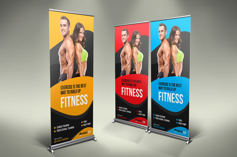 Roll Up Banner Designs