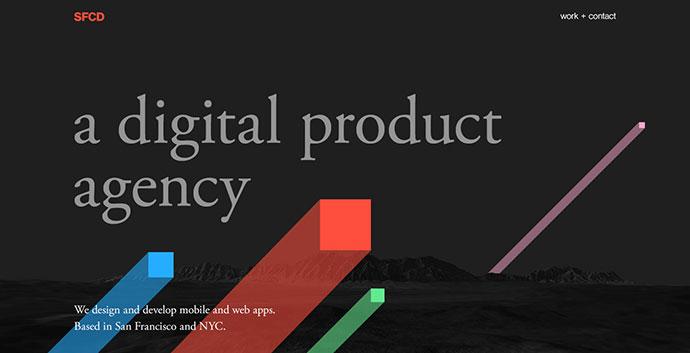 SFCD: Phenomenal Animated Background Websites