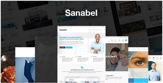 Sanabel Corporate - Corporate Theme