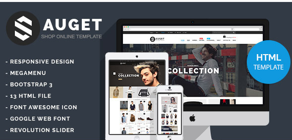 Sauget - eCommerce HTML Template