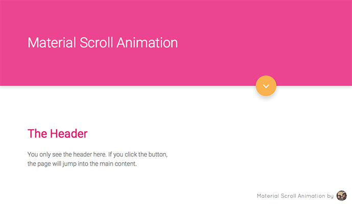 Scroll Animation