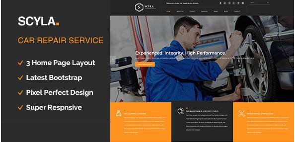 Scyla - Auto Mechanic & Car Repair Template