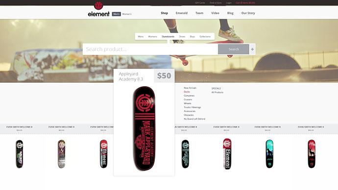 Skateshop Website