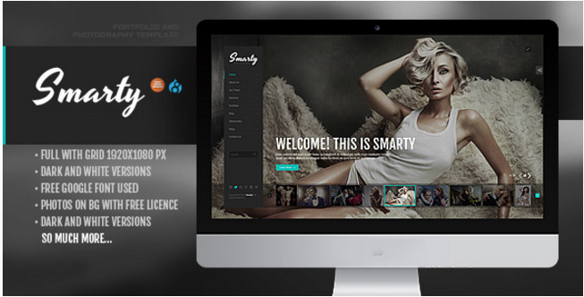 Smarty - Creative Agency & Portfolio Drupal 8 Theme with RTL