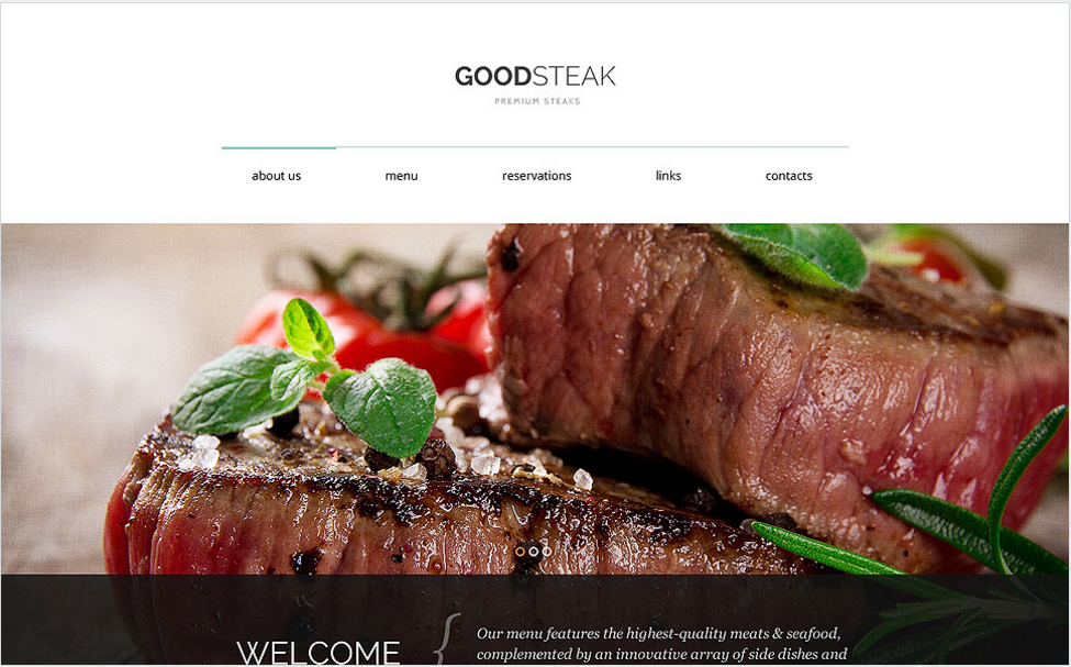 Steak Club Drupal Template