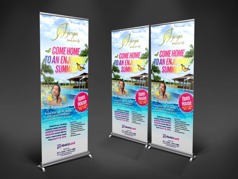 Summer-Party-Rollup-Banner