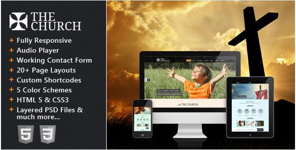 Best Church HTML Templates