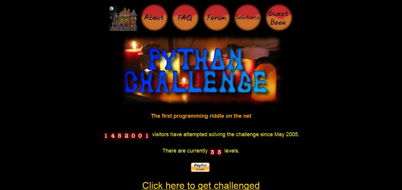 The-Python-Challenge