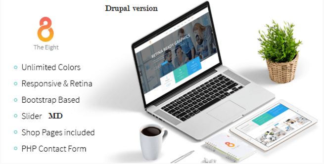 The8 - Corporate, Business Drupal Commerce Theme