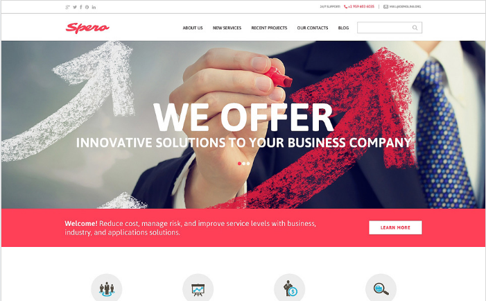 Theme for Your Business Drupal Template